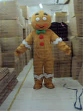 character gingerbread mascot costume halloween costumes party dinosaurs fancy dress christmas gift