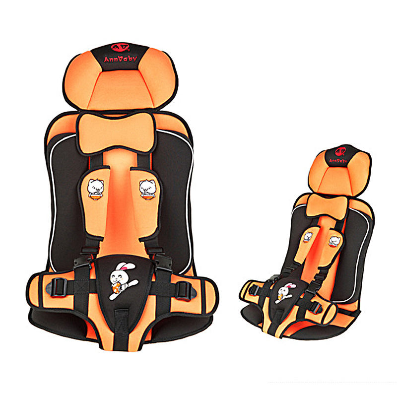 5-point harness Safety kids child baby car seat covers portable blue orange grey Top quality Comfortable 9-36 KGS(China (Mainland))