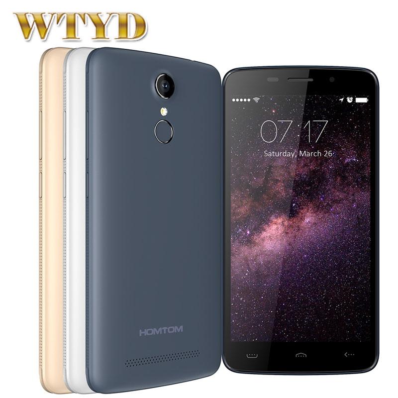 HOMTOM HT17 ROM 8GB+ RAM 1GB Smartphone Network 4G Fingerprint Identification 5.5'' Android 6.0 MT6737 Quad Core 1.3GHz OTG OTA(China (Mainland))