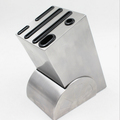New Fashion Stainless Steel Knife Storage Block Kitchen Tools Storage Holder Free Shipping