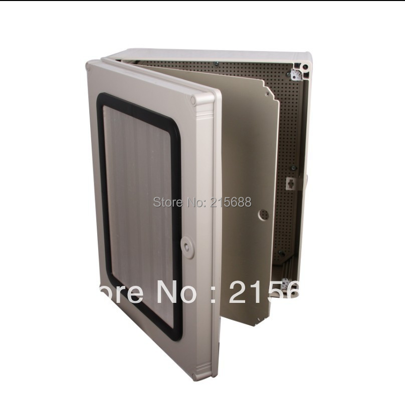 Hinged Electrical Box : Saipwell pc plastic box hinged lid container metal