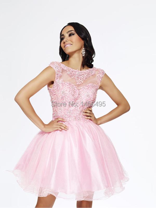 discount elegant scoop satin lace bridesmaid dress sale