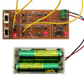 DIY electronice suite Discrete component gate suite with door or gate digital circuit experiment teaching practice