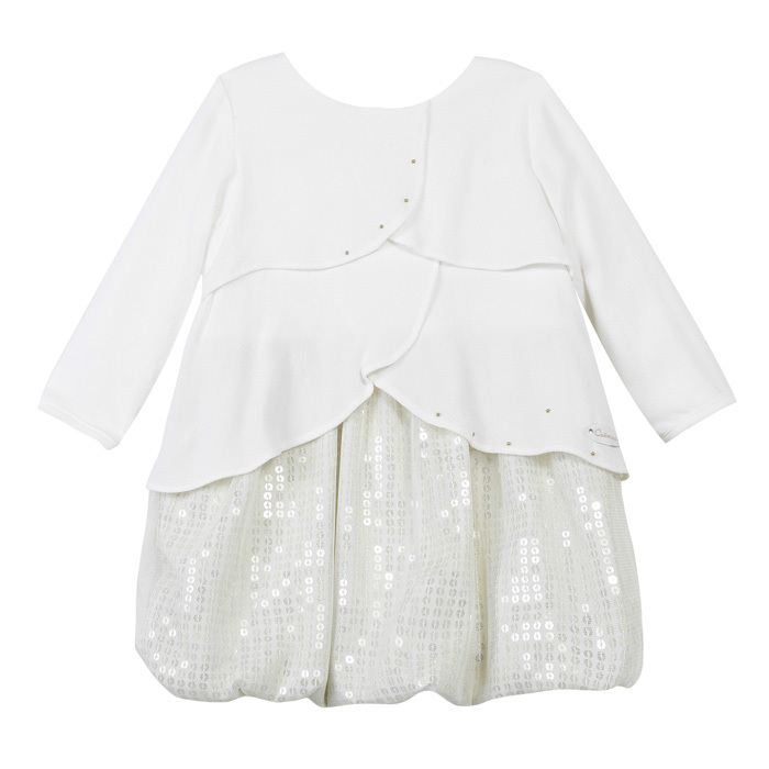 Catimini Girls' Clothing Layette Fille Couture Baby Dress(China (Mainland))