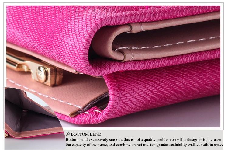 HTB1SMOWLpXXXXXBXpXXq6xXFXXXh - New Woman Wallet Small Hasp Coin Purse For Women Luxury Leather Female Wallets Design Brand Mini Lady Purses Clutch Card Holder