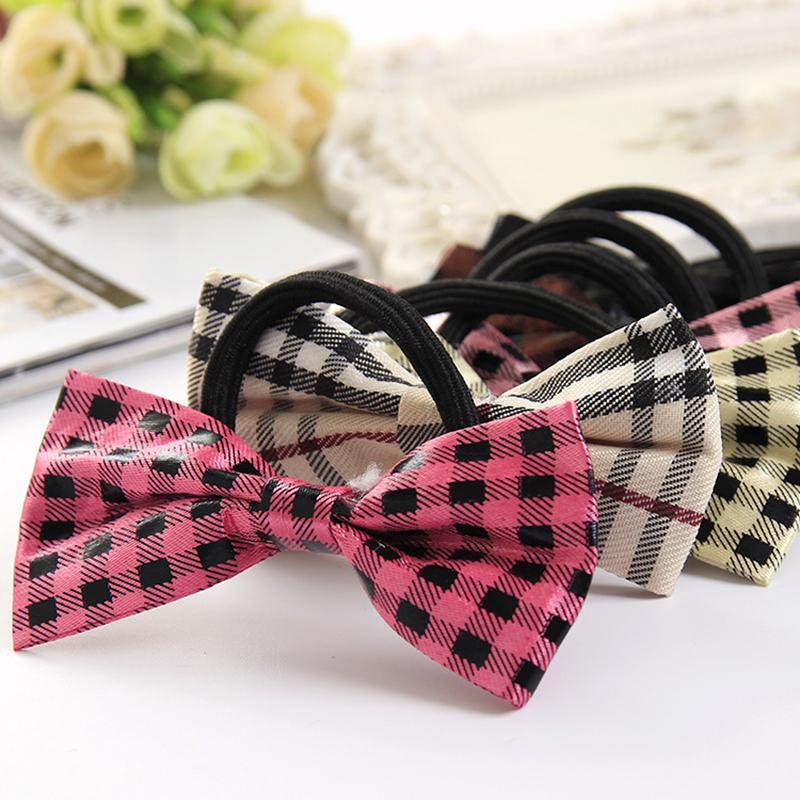 Modern Sleek Striped Bow Fashonal Elastic Hair Bands for Girl Headwear Women Hair Accessories Одежда и ак�е��уары<br><br><br>Aliexpress