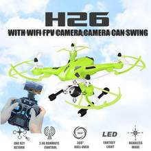 Fpv Dron esWith HD Camera Jjrc H26 Swing Wifi Radio Camera Hexacopter Professional Drone Dron Rc Quadcopter Flying Helicopter