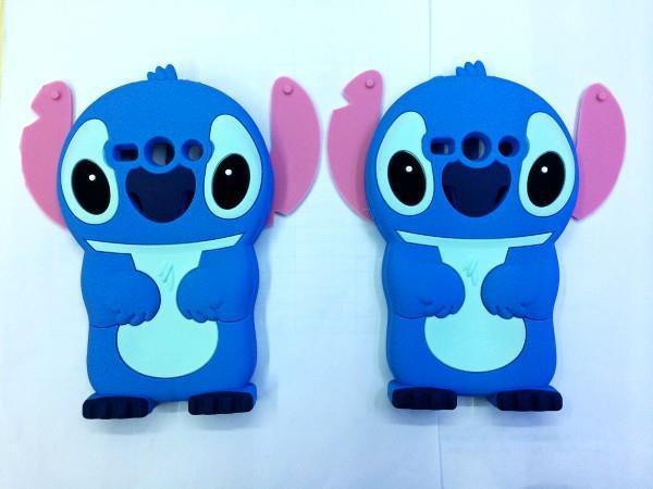 Cartoon Cute 3D Stitch Silicone Rubber Soft Phone Cover Case Samsung Galaxy Core 2 ii G355h SM-G355H Core2 g355 - Made In China Centre store