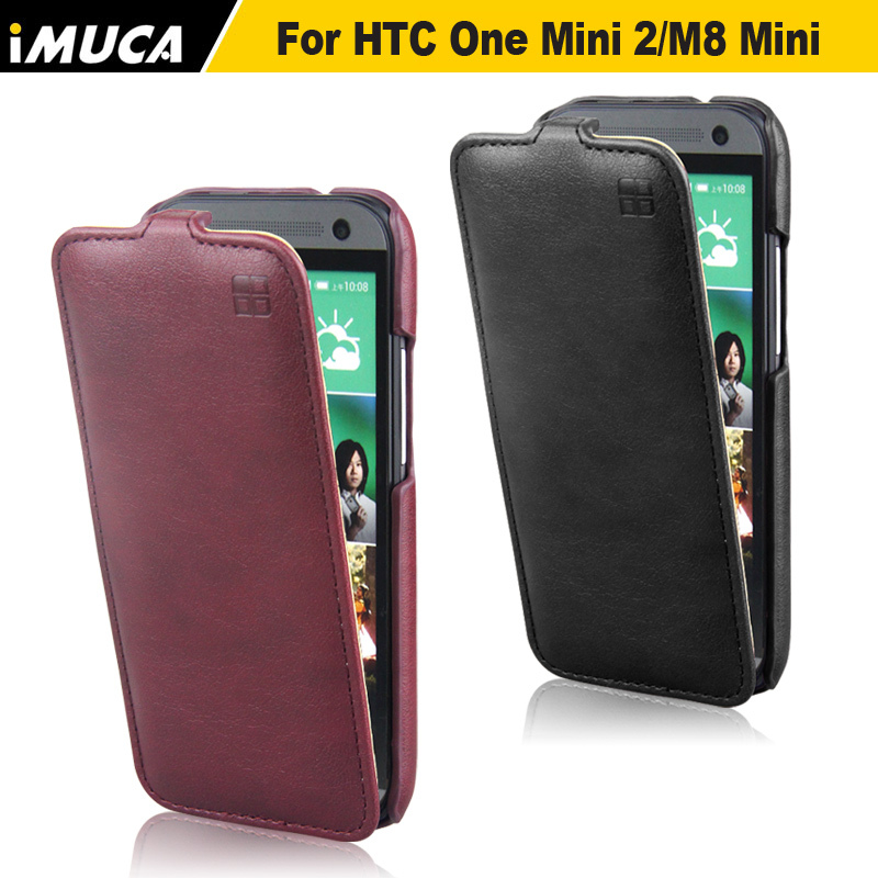 2015 new designer IMUCA mobile phone bags&cases for HTC One Mini 2 cell phone smart flip leather case cover(China (Mainland))