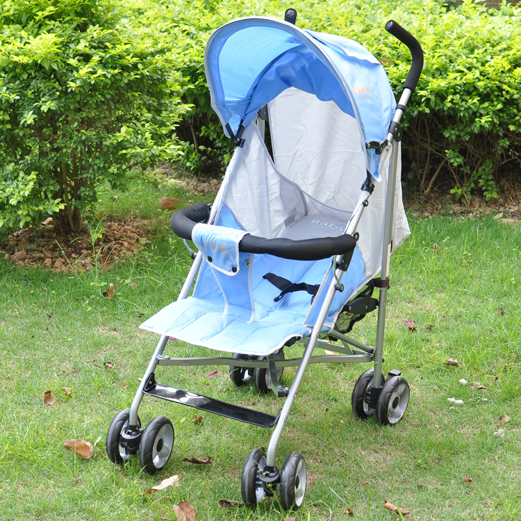 Baby stroller light can sit down baby umbrella car shockproof folding cart clearance hot summer children<br>
