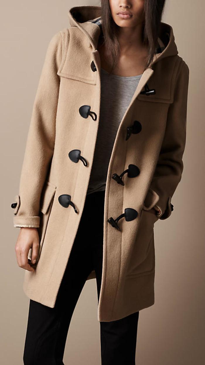 Designer Duffle Coat - Coat Nj
