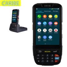 Handheld móvel do scanner 2D scanner de código de barras industrial da tela de toque com GPS com RFID UHF (1-2 M)(China (Mainland))