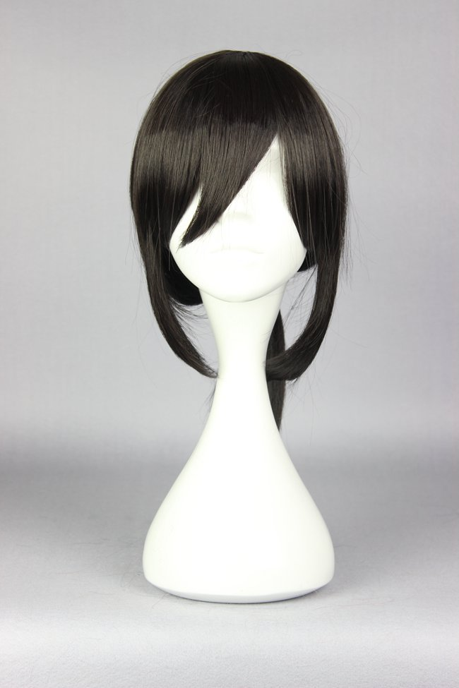 2015 NEW Kantai Collection KanColle 43CM Black Classic straight Cosplay Anime Wig