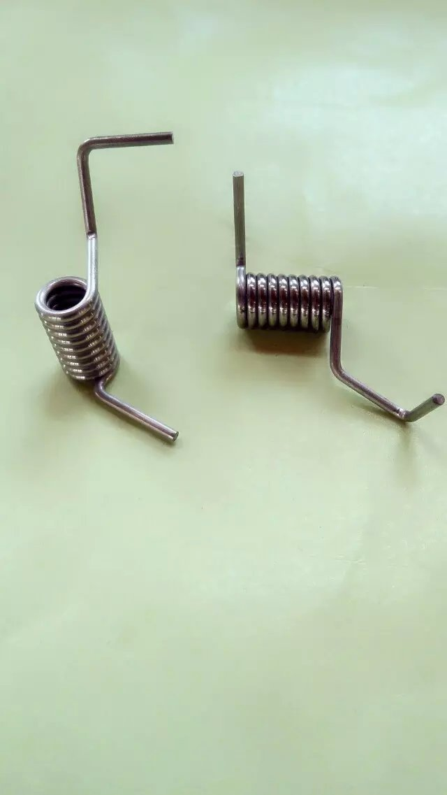 Manufacture Custom stainless steel wire spiral torsion spring, nickel coil torsion spring(China (Mainland))