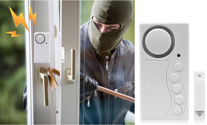 Гаджет  Wireless Home Password Door Window Motion Detector Burglar Entry Security Alarm System #M None Безопасность и защита