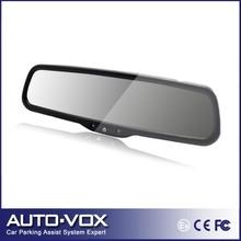 "Car 4.3"" rear view mirror monitor Auto Adjust Brightness for DVD CCD camera(China (Mainland))"