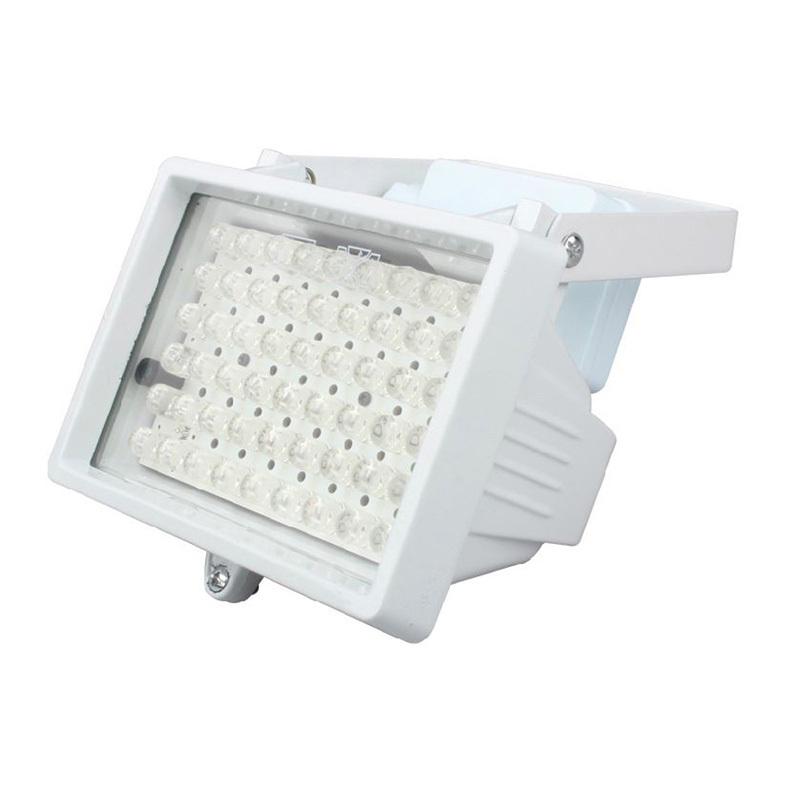 DC 12V 54 LEDs Night Vision IR Illuminator Light for CCTV Camera 20pcs/lot Wholesale(China (Mainland))