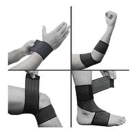 Compression Bandage Wrap Elbow Wrist Knee Ankle Support Stabilizer Sprain Strain Elbow & Knee Pads 70CM