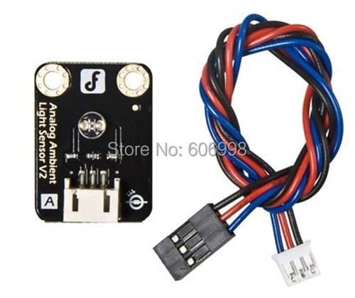 5pcs/lot With Data Line Simulated Ambient Light Sensor For Arduino Electronic Blocks