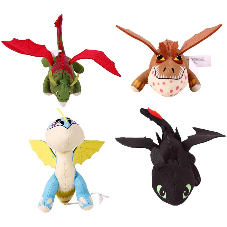 Cute Hot Toothless Night Fury Plush toy Lovely How To Train Your Dragon Stuffed Animals doll Posable Wings Kids Birthday Gift(China (Mainland))
