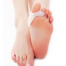 Soft Toe Corrector Silicone Gel Food Care Pad Bunion Separator Straightener 2 Pieces