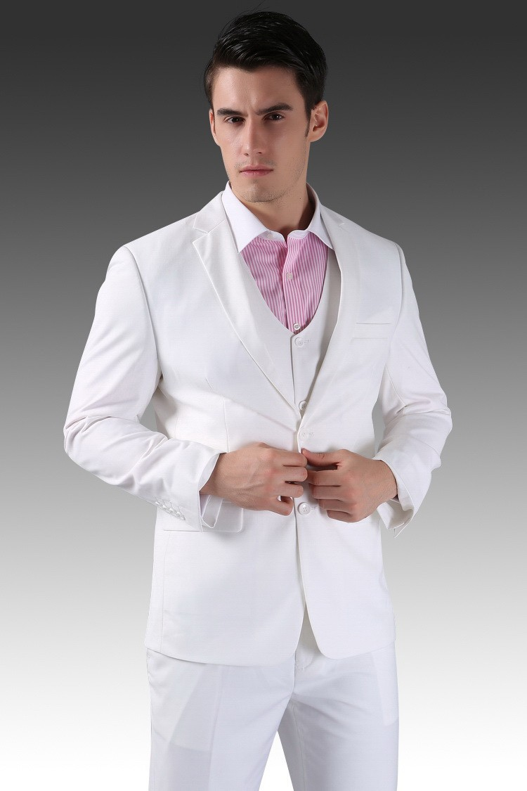 2015 Chinese Authentic Fashion Wedding Menu0026#39;s Suit Jacket + Pants + Shirt Super Gift Juxian ...