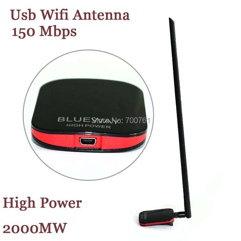 5PCS Blueway N9500 High Power 2000MW Ralink 3070 USB Wifi wi fi Antenna 15dBi wireless Lan Card(China (Mainland))