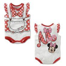 Mudkingdom Summer baby boy & girls body suits cartoon  baby romper climbing clothes sets animal one-piece