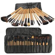Best Sale 24 Brushes Professional Makeup Brushes Cosmetics Kit Makeup Set brushes tools makeup tools ; accessories(China (Mainland))