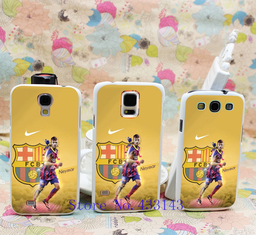 brazil Neymar (2) TD-49 Style Clear Skin Back Cover Case Galaxy S5 S4 S3 I9600 I9500 I9300 - Shenzhen ZhuoYou Technology Co.,LTD store
