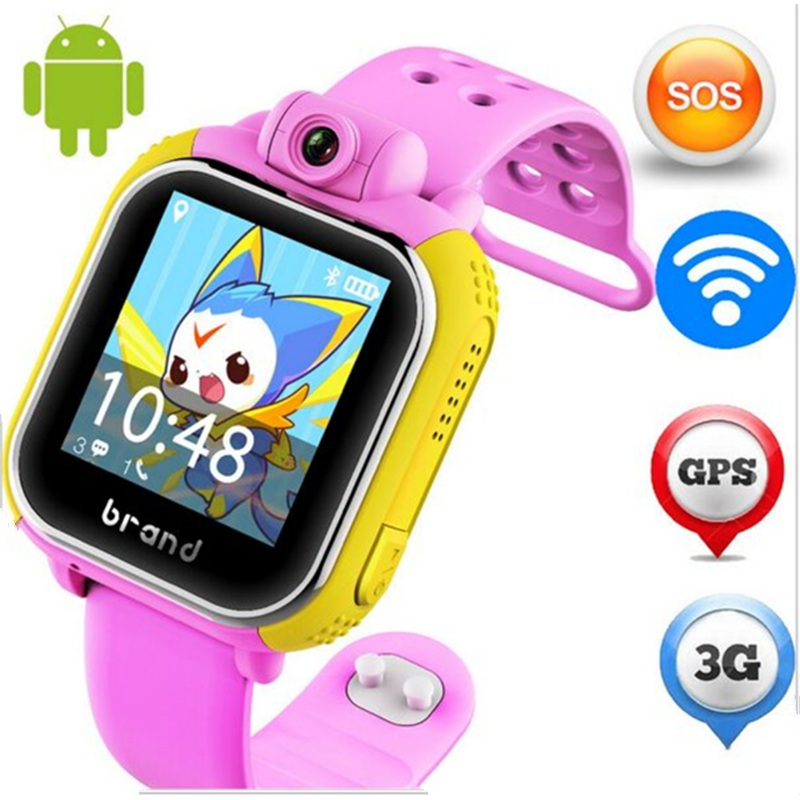 original JM13 3G Smart Watch Camera GPS LBS WIFI Kids Wristwatch SOS Monitor Tracker Alarm For IOS Android smartwatch pk q90 Q50(China (Mainland))