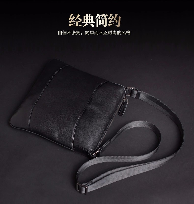 New 2015 Designer Brand Men's Travel Bags, Men Messenger Bags, Big Genuine Leather Shoulder Bag, Free Shipping#2062