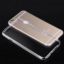 Clear Case For iPhone 7 Case 0.3MM Ultra Thin Crystal Soft TPU Cover For Capa iPhone 7 Silicone Case Mobile Phone Cases Coque