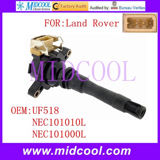 Новый катушка зажигания использования OE no. Uf518, Nec101010l, Nec101000l для лендровер