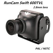 RunCam swift 600TVL FPV HD mini camera 2.8mm lens PAL / NTSC 2-4S lipo for DIY mini drone QAV-R QAV180/210 quadcopter