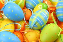 photography background 200CM*150CM New arrival A lot of eggs photo studio Easter day zzj4