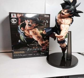 High quality - Anime 20CM dragon ball z action figures Super Saiyan Son Goku PVC Collectible Toy model for Birthday Gift T3324(China (Mainland))