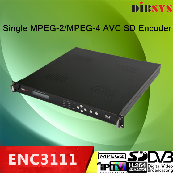 MPEG-2 and MPEG-4 ACV SD Single Channel Encoder with Build In Dual Audio Stereo Channels Or 4 Mono Channels(China (Mainland))