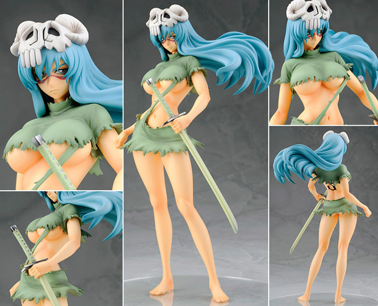 Japanese Anime Cartoon Bleach Nelliel Tu Odelschw 1/8 Scale Art Figure 21cm For Christmas Gifts Free Shipping(China (Mainland))