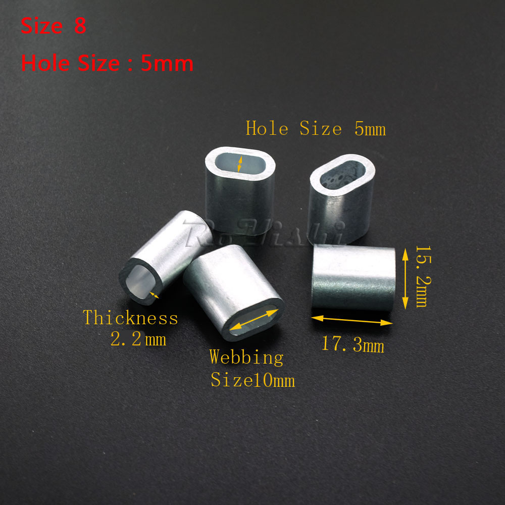 Großhandel 100 Teile / Los Aluminium Kabel Crimp Sleeve Kabel ...