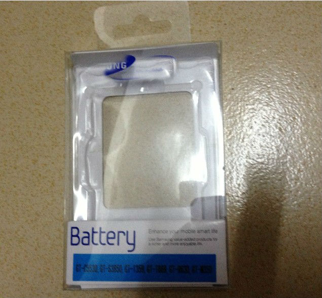 Battery Blister Card Package For-samsung- Note 2 N7100 Mobile Phone Battery,100pcs/lot,High Quality,Free Shipping(China (Mainland))