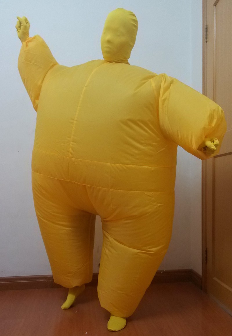 Halloween inflatable full body jumpsuit 5