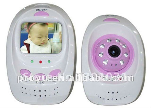 2.5 inch TFT Color LCD Wireless baby monitor with night vision function PY-B325