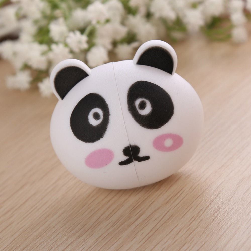 Cartoon Panda Animal Style Plastic Cute Toothbrush Holder Case Container For Home Bathroom Accessories Gadget(China (Mainland))