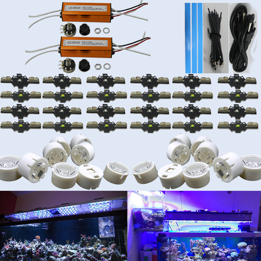 120W Solderless DIY Led Aquarium Light Kit For LED Fish Tank Lighting(China (Mainland))
