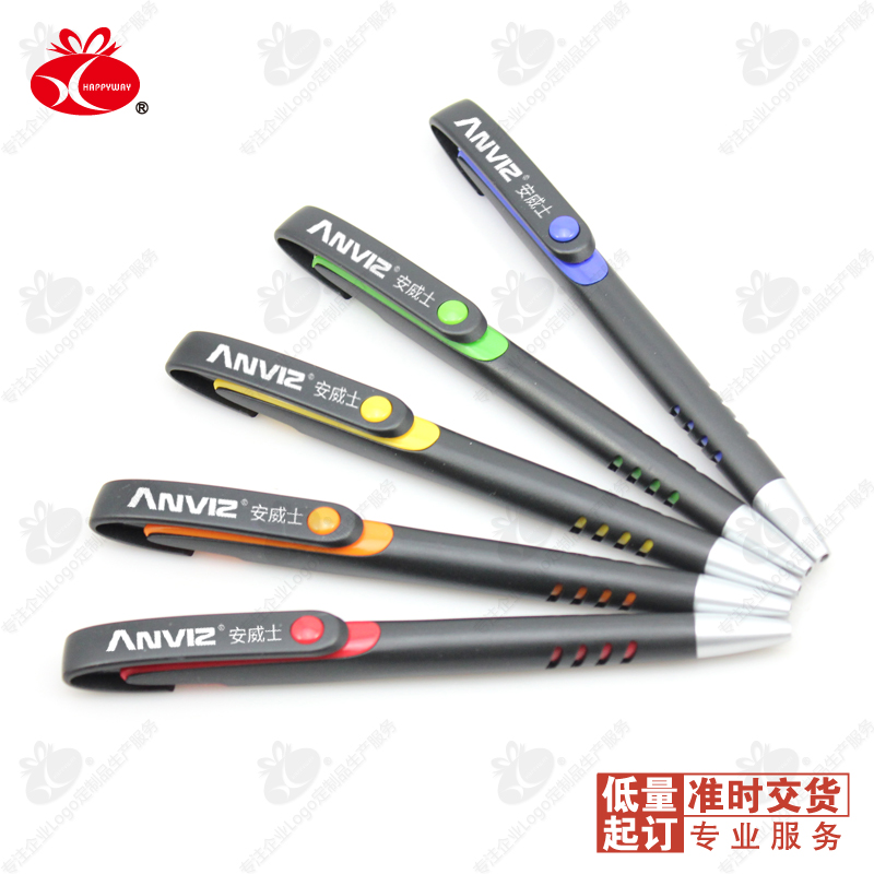 custom 500pcs lot dhl black rod idea pen custom logo business office
