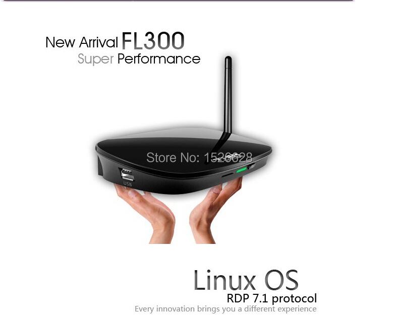 Freeshipping FL300W Wireless Linux Thin Client Terminal With Cortex A9 Dual Core 1.5Ghz CPU 512M RAM 512M 32 Bits HDMI WIFI(China (Mainland))