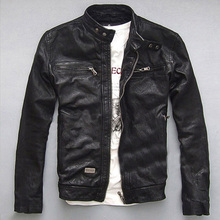 Sports and leisure suede leather  collar hoy sell  male add fertilizer M-7XL men leather jacket of frees hipping  T1600(China (Mainland))