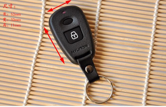 Free shipping remote car key Shell case cover for Hyundai 2000 2001 2002 2003 Santa Fe Hyundai Elantra(China (Mainland))