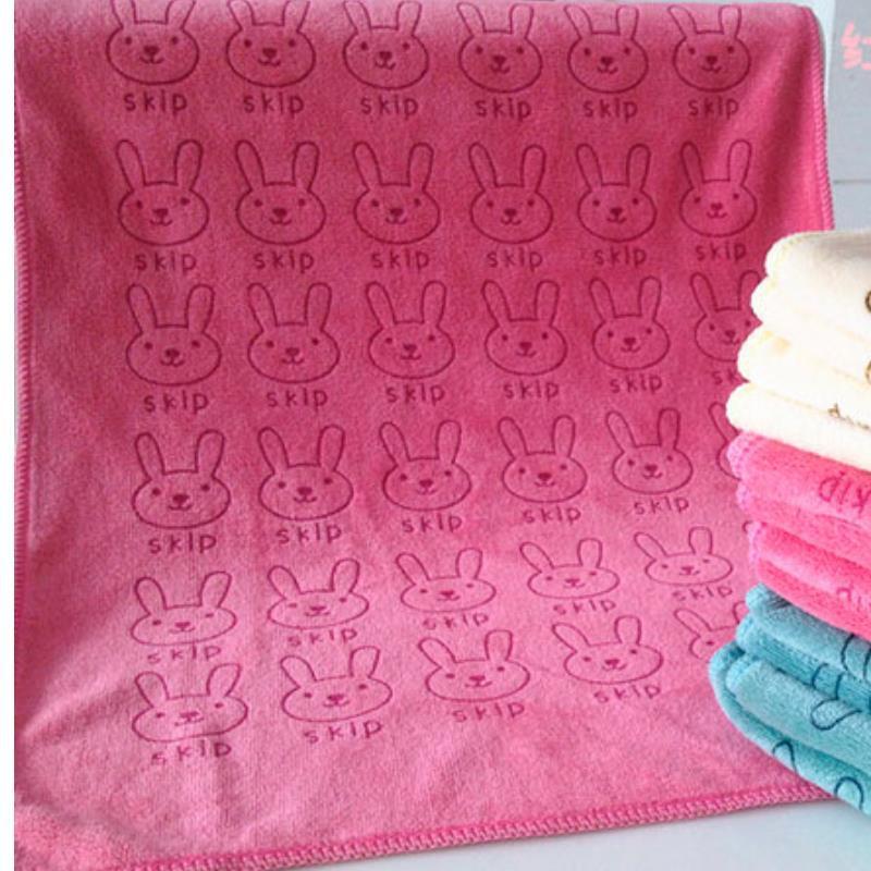 profissional headscarf kit red rabbit Hair Quick Fast Dry Drying Bath Towel Hat cap beach towel toalha de banho(China (Mainland))